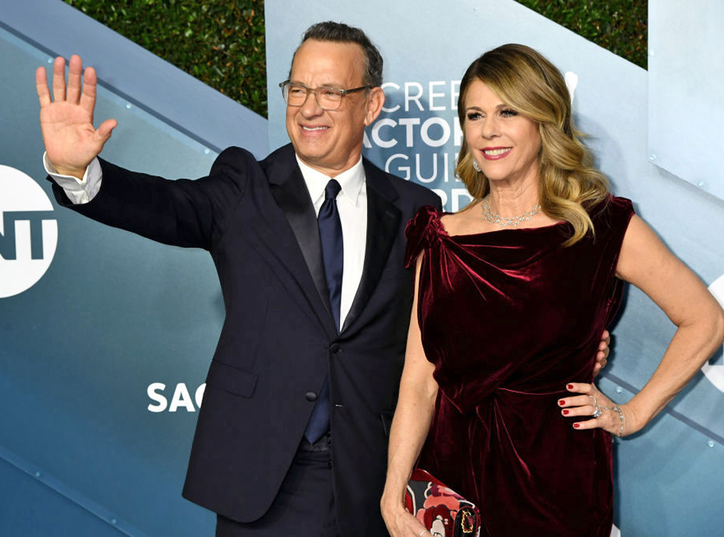Tom Hanks, Rita Wilson, 2020 Screen Actors Guild Awards, SAG Awards