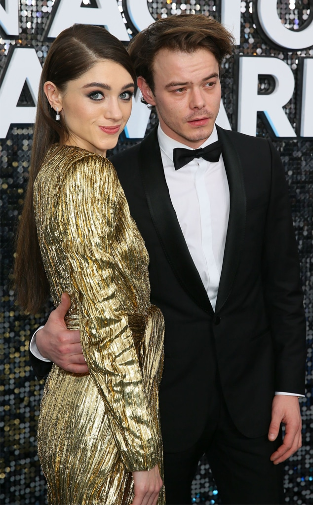 Natalia Dyer, Charlie Heaton, 2020 Screen Actors Guild Awards, SAG Awards