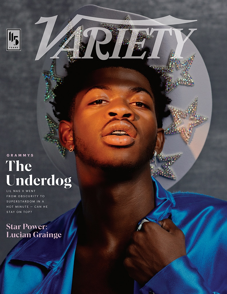 Lil Nas X, Variety, January 2020, Cover
