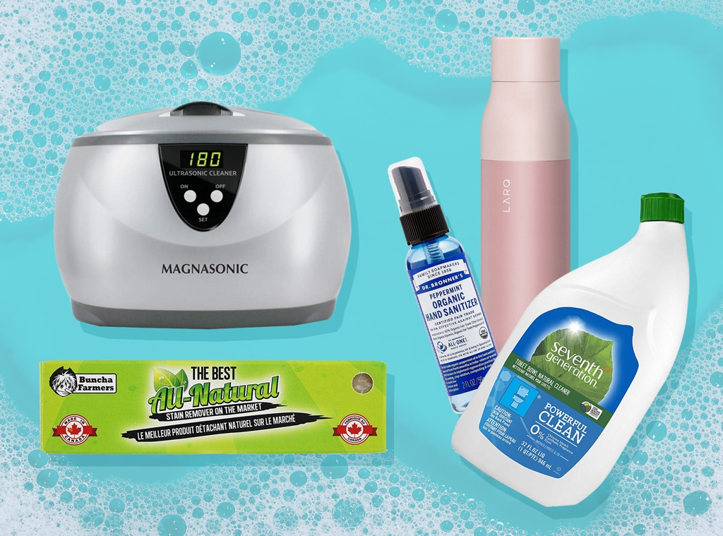 E-Comm: Nifty Sanitization Stuff to Make Everything in Your Life Less Gross