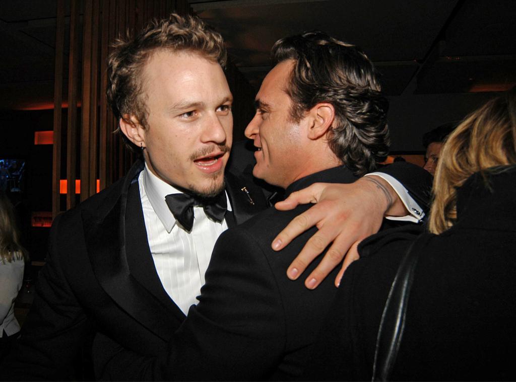 Heath Ledger, Joaquin Phoenix, 2006 Vanity Fair Oscar Party