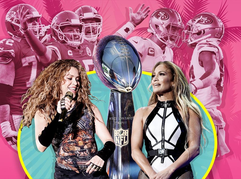 2020 Super Bowl, Jennifer Lopez, Shakira, San Francisco 49ers, Kansas City Chiefs