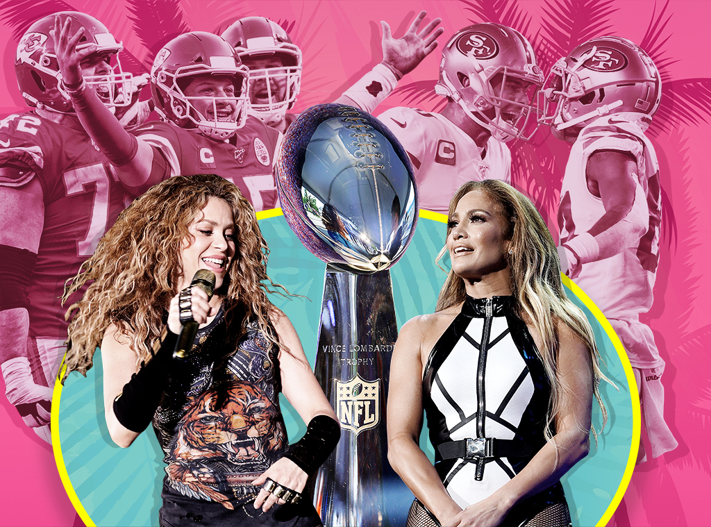 2020 Super Bowl, Jennifer Lopez, Shakira, San Francisco 49ers, Kansas City Chiefs