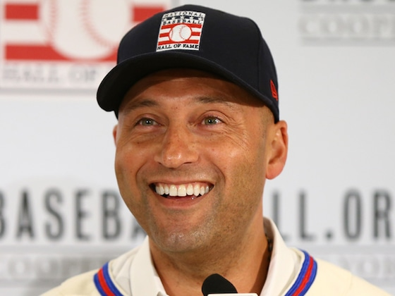 Derek Jeter Shares Rare Video Of His Daughters After Hall of Fame Announcement