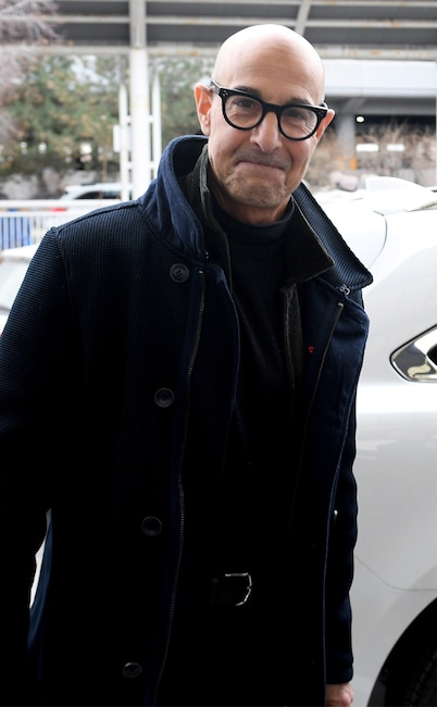 Stanley Tucci, Sundance celebrity sightings