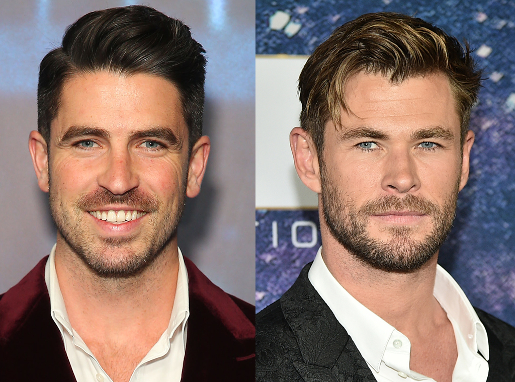 Scott Tweedie, Chris Hemsworth