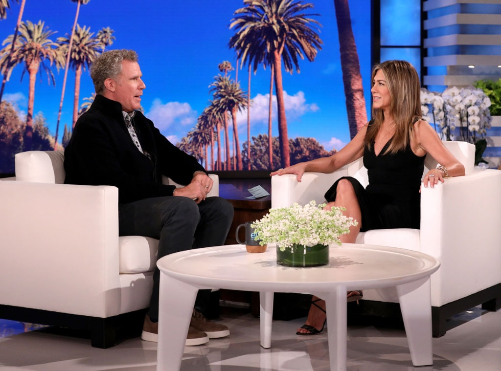 Jennifer Aniston Surprises Friends Fans While Guest Hosting Ellen DeGeneres' Talk Show