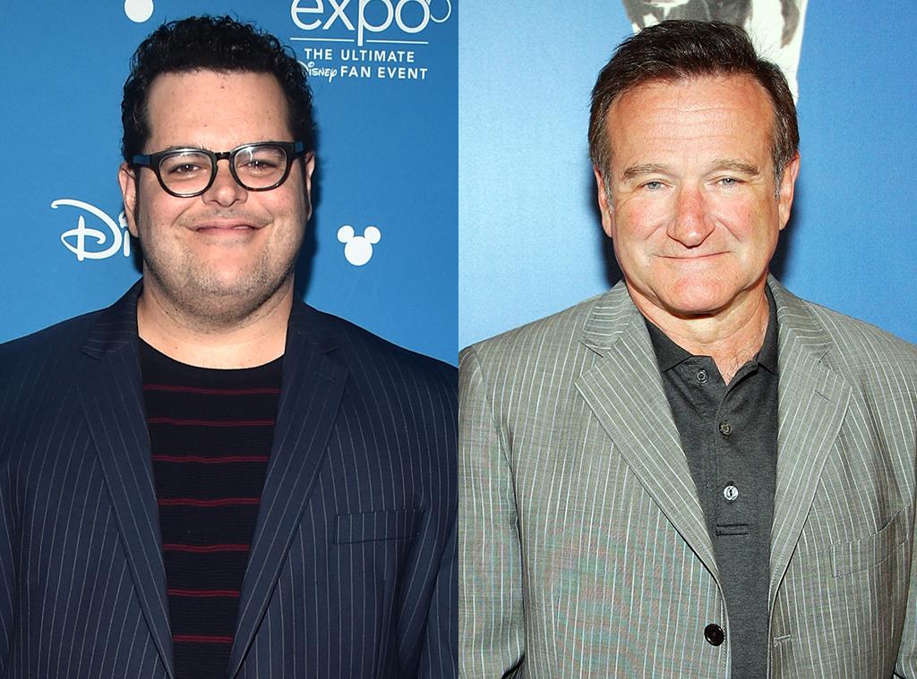 Josh Gad, Robin Williams