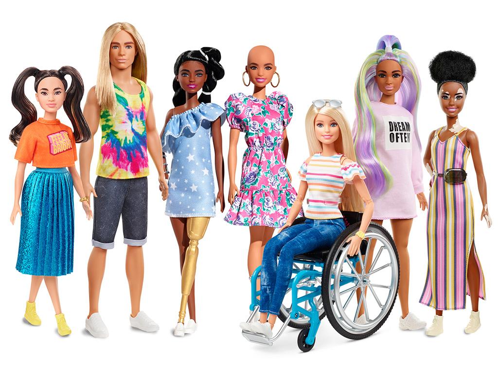 Barbie, 2020 Fashionistas Line