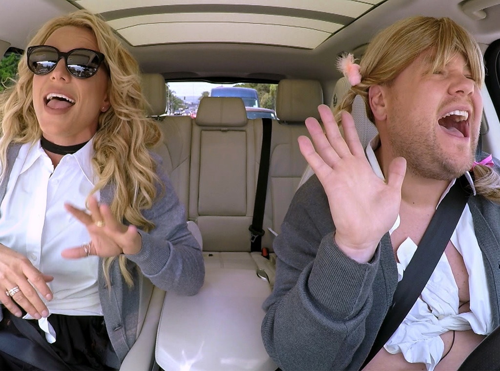 Britney Spears, Carpool Karaoke, The Late Late Show with James Corden