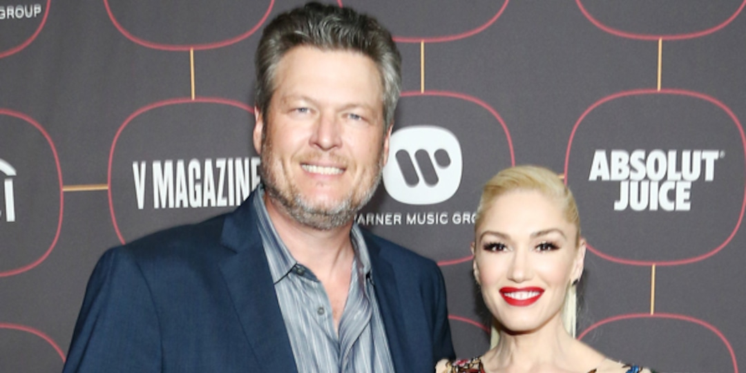 """Blake Shelton Says Gwen Stefani Is """"Constantly on My Ass"""" to Make This Change in His Life - E! Online.jpg"""