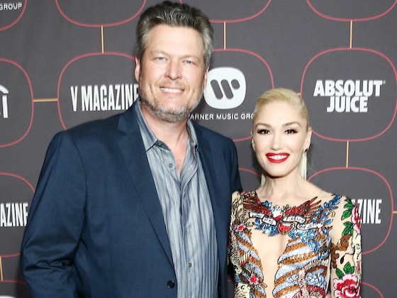 Gwen Stefani and Blake Shelton Have a Date Night at Pre-2020 Grammys Party