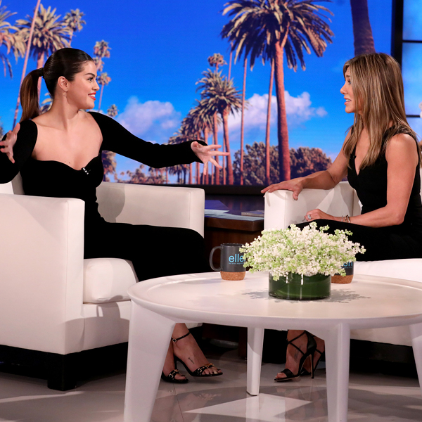 Selena Gomez Fangirling Over Jennifer Aniston Is Literally All Of Us