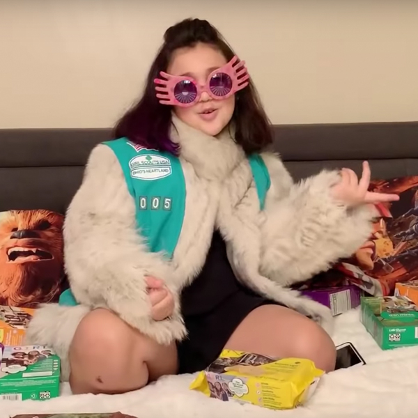 This Girl Scout's Lizzo Remix Will Have You Buying All Her Cookies