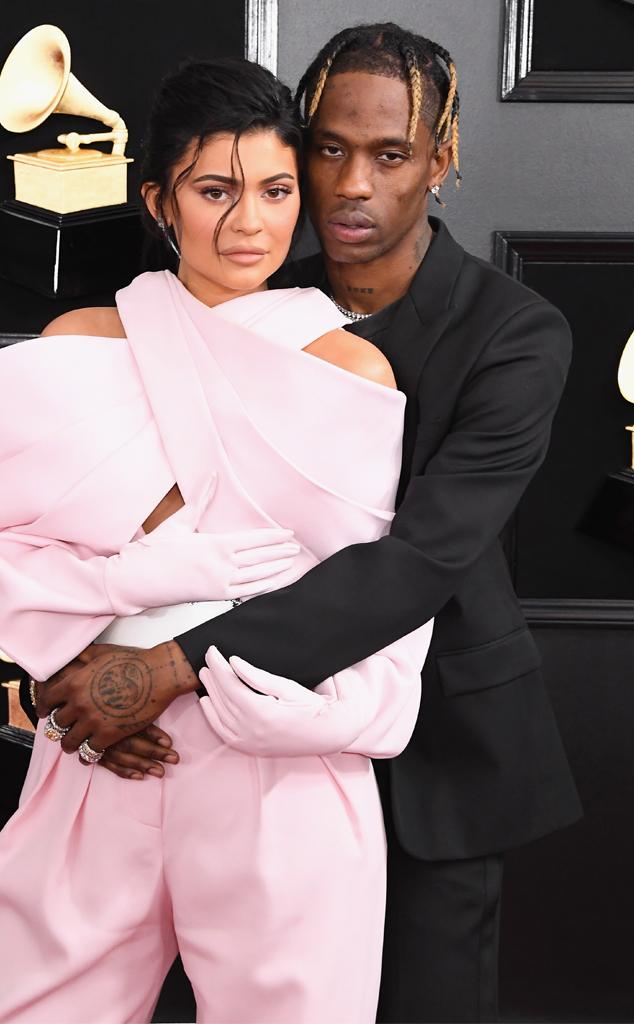 Travis Scott, Kylie Jenner, 2019 Grammy Awards, Grammys
