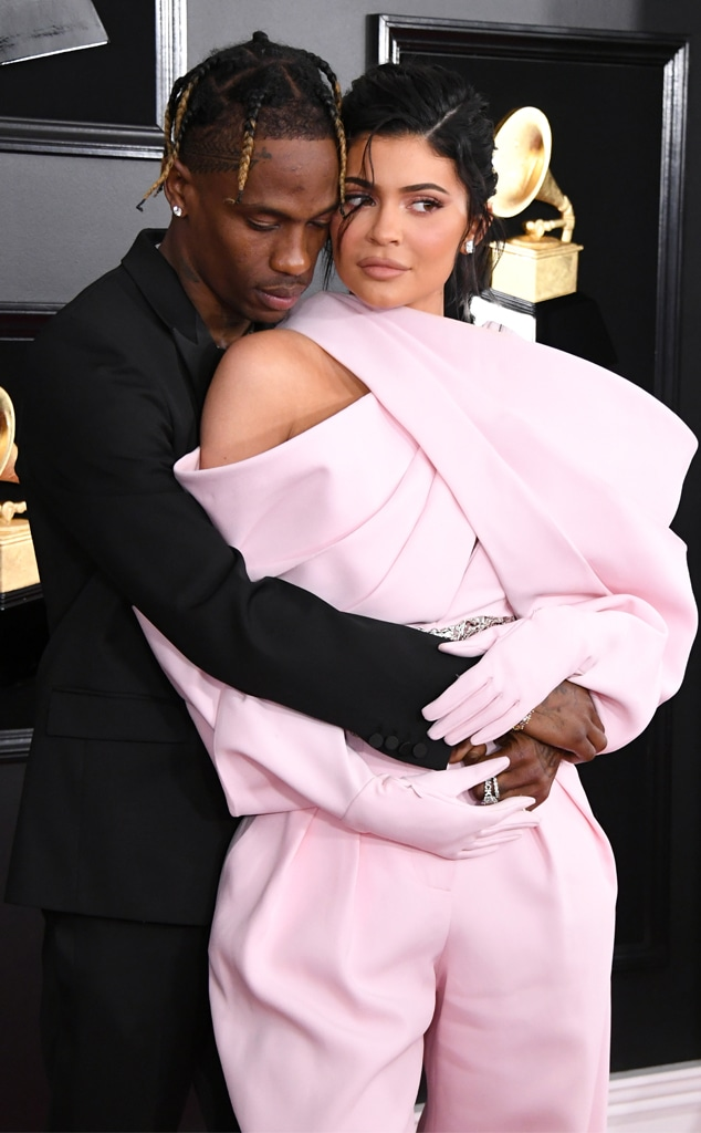 Travis Scott, Kylie Jenner, 2019 Grammy Awards, Grammys