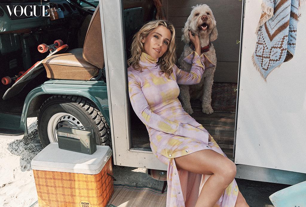 Elsa Pataky, Vogue Australia February 2020