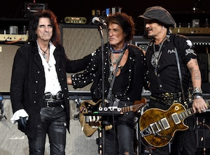 MusiCares Person Of The Year Honoring Aerosmith, Joe Perry, Johnny Depp, Alice Cooper