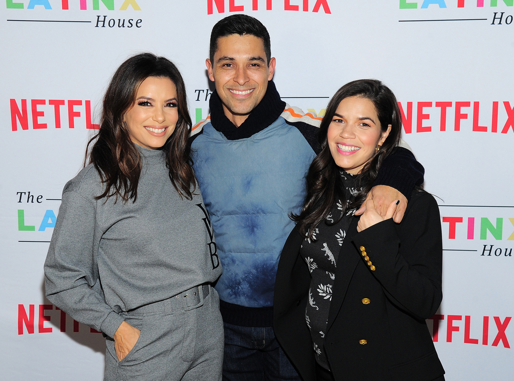 America Ferrera, Eva Longoria, Wilmer Valderrama, The Latinx House, 2020 Sundance Film Festival