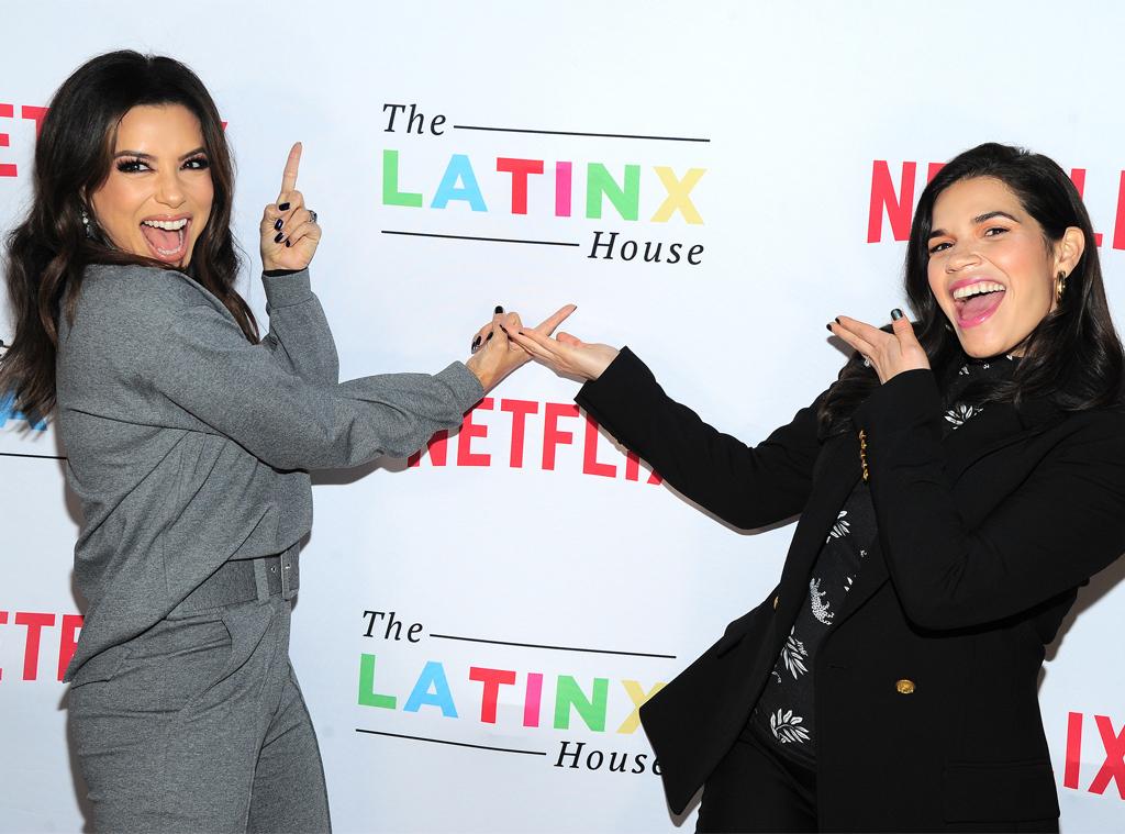 America Ferrera, Eva Longoria, The Latinx House, 2020 Sundance Film Festival