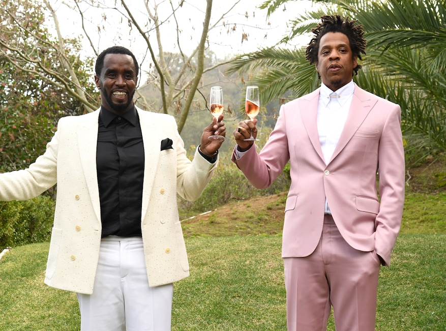 Sean Combs, Diddy, Jay-Z, 2020 Roc Nation brunch