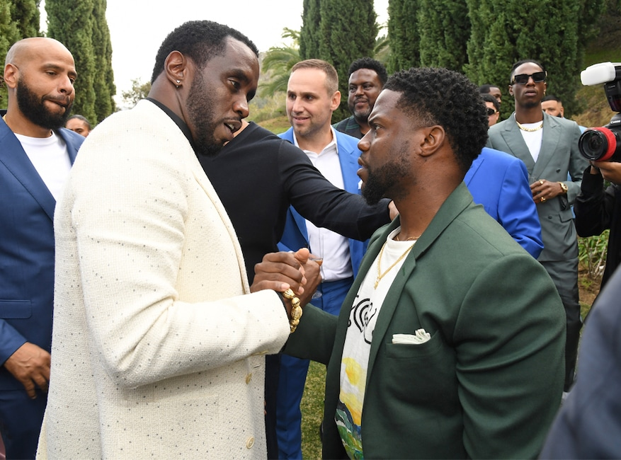 Sean Combs, Diddy, Kevin Hart, 2020 Roc Nation brunch