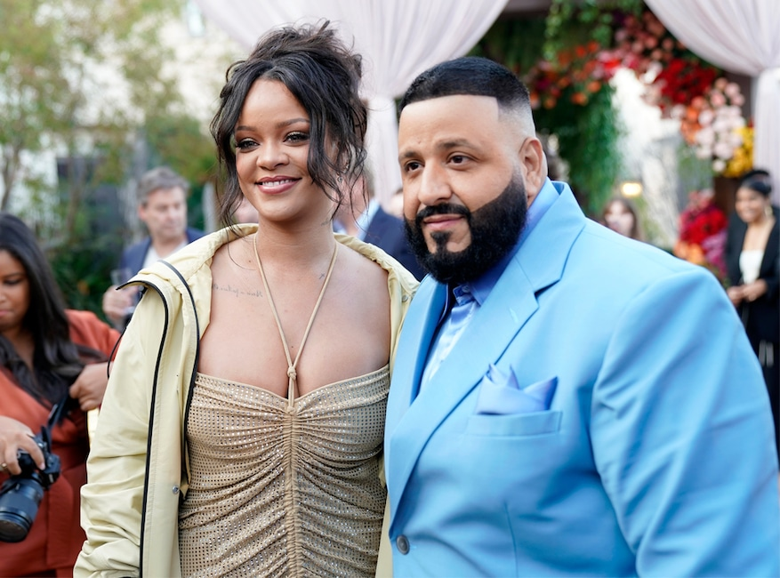 Rihanna, DJ Khaled, 2020 Roc Nation brunch