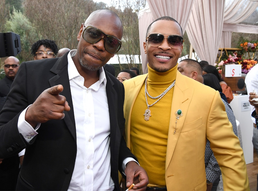 Dave Chappelle, T.I., 2020 Roc Nation brunch