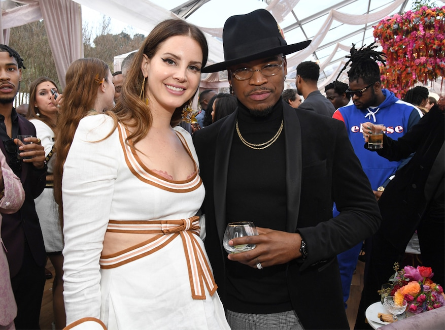 Lana Del Rey, Ne-Yo, 2020 Roc Nation brunch