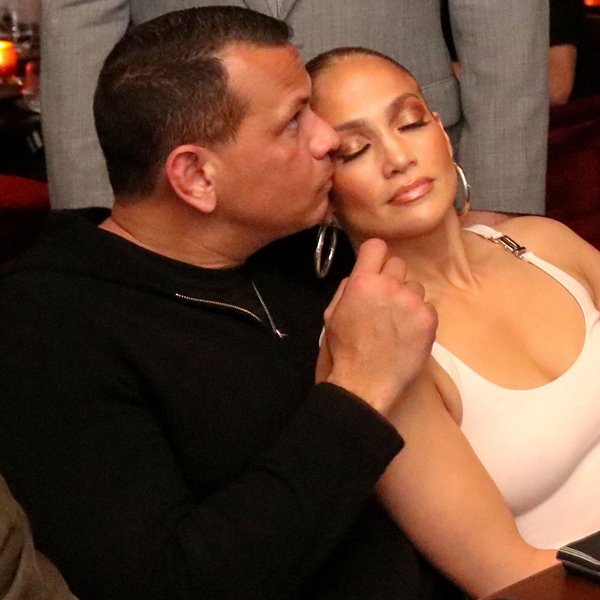 Jennifer Lopez and Alex Rodriguez Look So in Love at Her Manager's Birthday Party