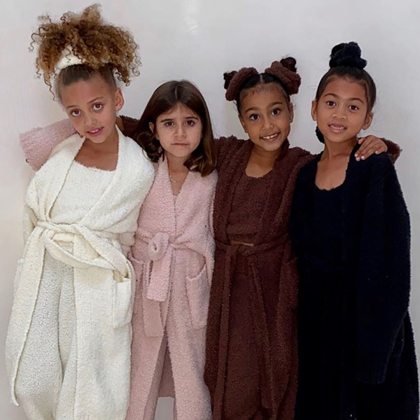 """North West and Penelope Disick Are Part of SKIMS-Wearing """"Cardi Crew"""" and Cardi B Approves"""