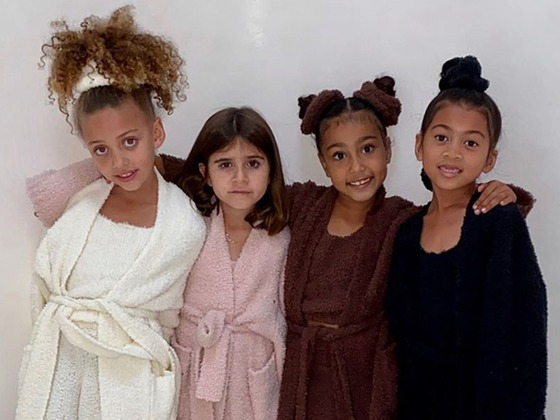"North West and Penelope Disick Are Part of SKIMS-Wearing ""Cardi Crew"" and Cardi B Approves"