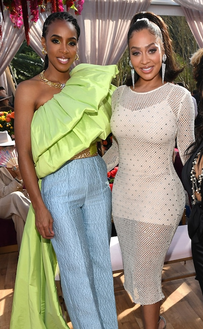 Kelly Rowland, La La Anthony, 2020 Roc Nation brunch