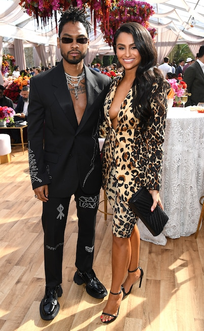 Miguel, Nazanin Mandi, 2020 Roc Nation brunch