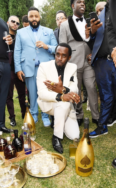 Sean Combs, Diddy, DJ Khaled, 2020 Roc Nation brunch