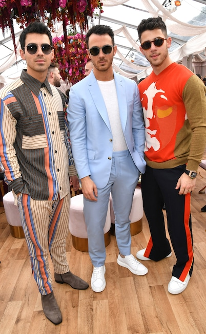 Joe Jonas, Kevin Jonas, Nick Jonas, 2020 Roc Nation brunch