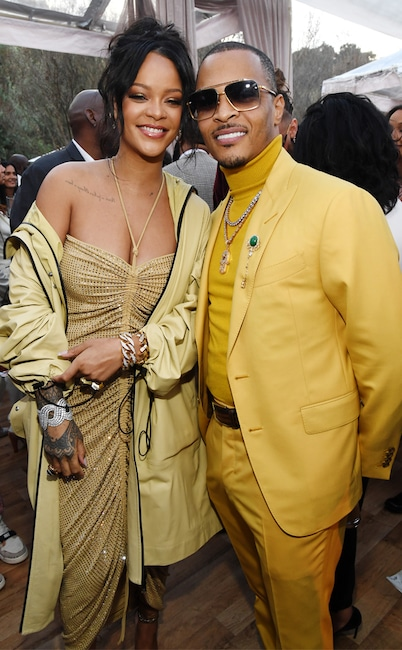 Rihanna, T.I., 2020 Roc Nation brunch