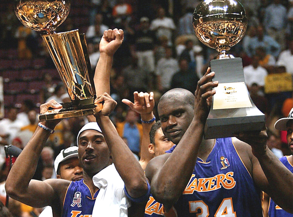 Kobe Bryant, Shaquille O'Neal, Life In Photos