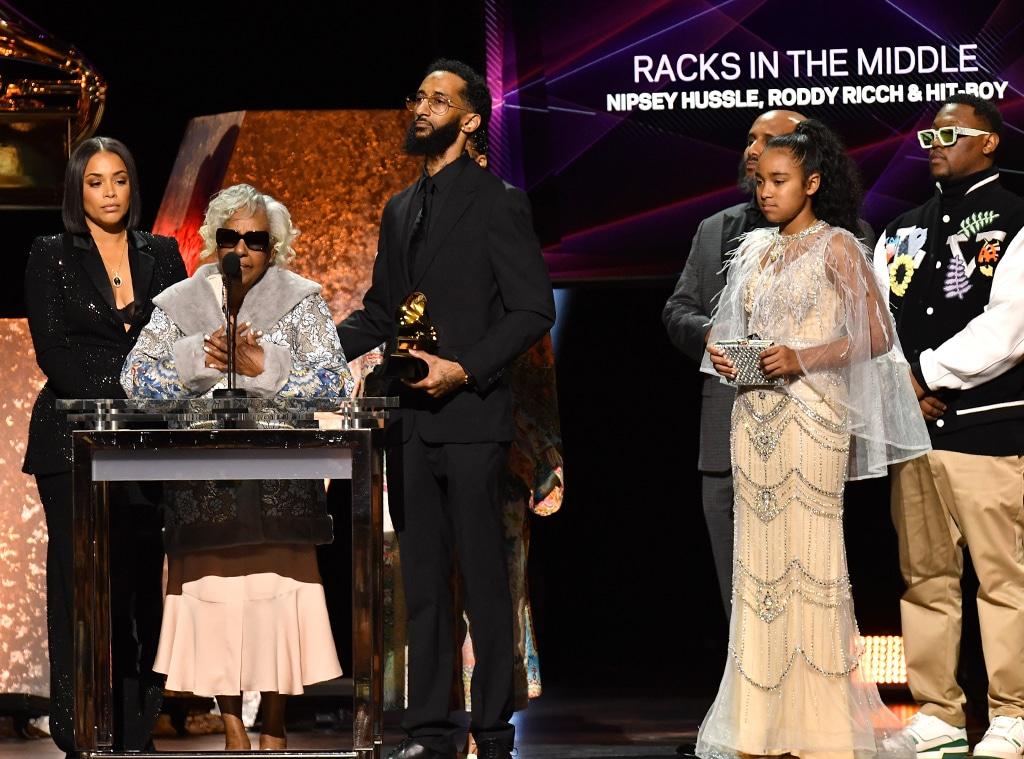 Nipsey Hussle Family, 2020 Grammy Awards, Winner