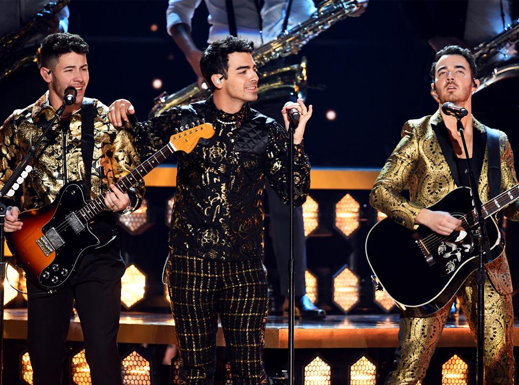 Nick Jonas, Joe Jonas, Kevin Jonas, Jonas Brothers, 2020 Grammys, Grammy Awards, Performance
