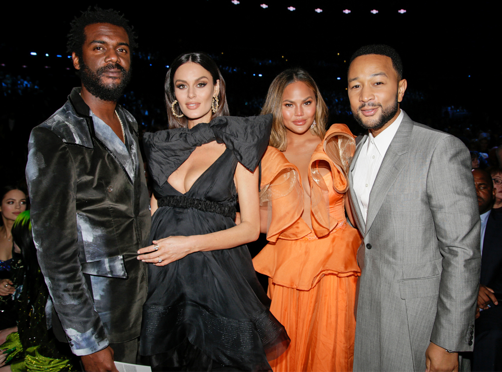 Gary Clark Jr., Nicole Trunfio, Chrissy Teigen, John Legend, 2020 Grammys, Grammy Awards, Candids