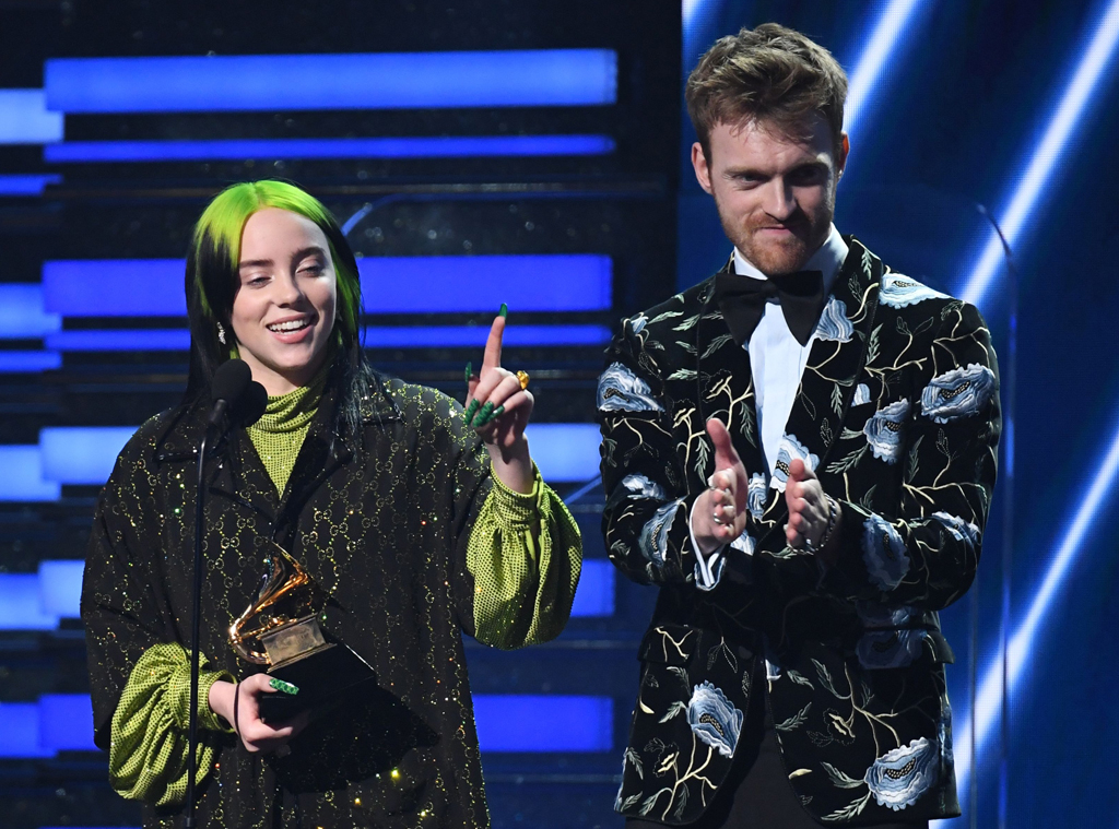 Billie Eilish, Finneas, 2020 Grammys, Grammy Awards, Winners