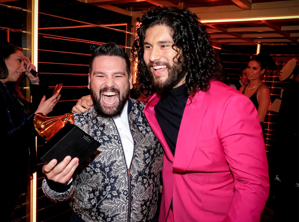 Dan Smyers, Shay Mooney, Dan + Shay, 2020 Grammys, Grammy Awards, Candids