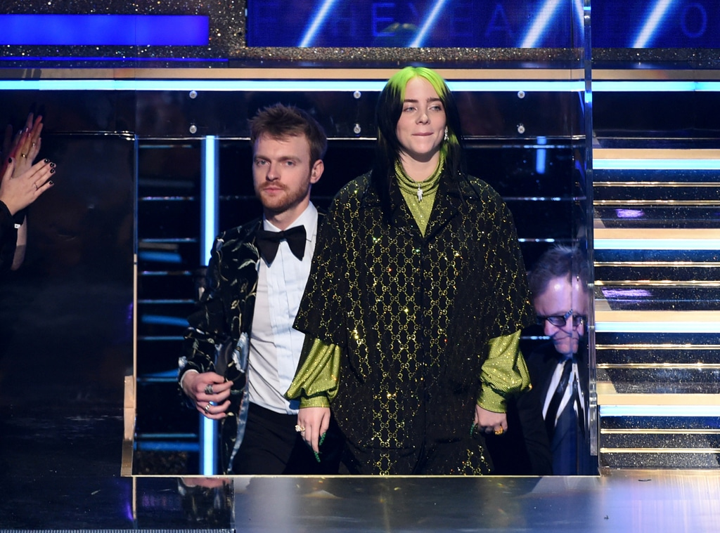 Billie Eilish, Finneas O'Connell, 2020 Grammys, Grammy Awards, Winner