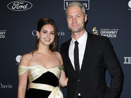 Lana Del Rey and Boyfriend Sean Larkin Made Red Carpet Debut at Pre-2020 Grammys Gala