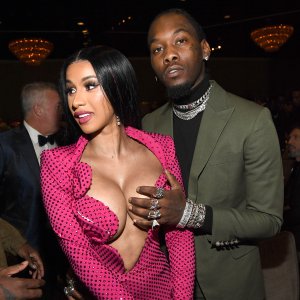 Offset Gets His Cardi B S Daughter S Name Tattooed On: Offset Gets Grabby As Cardi B Pops Out Of Her Dress At
