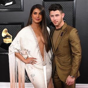 2020 Grammys, Grammy Awards, Couples, Priyanka Chopra, Nick Jonas