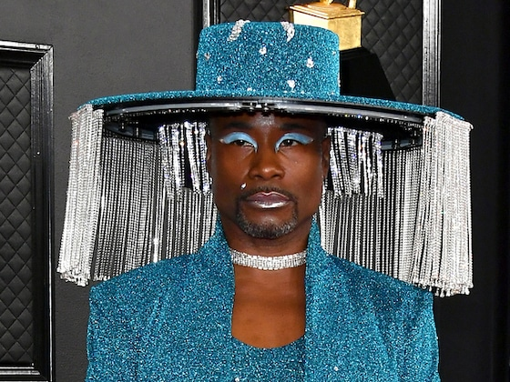 Billy Porter's Lampshade Hat Sparked the 2020 Grammys' Best Memes
