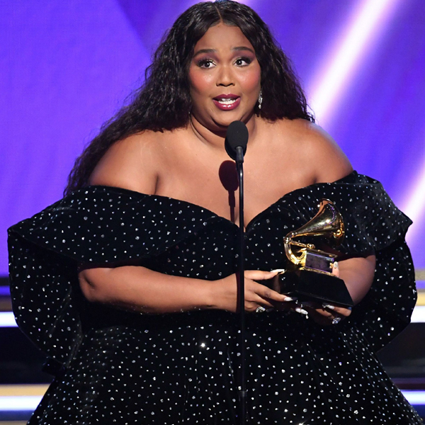 Lizzo Delivers the Speech You Need to F--king Hear After Winning Best Pop Performance at 2020 Grammys