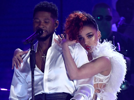 Usher and FKA Twigs Honor the Late Prince at the 2020 Grammys and It's a Must See